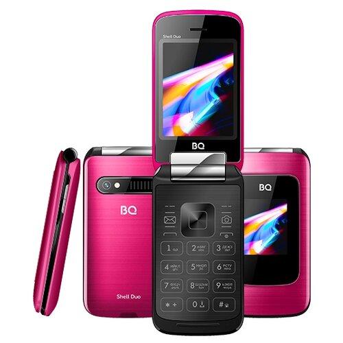 Телефон BQ 2814 Shell Duo розовый телефон