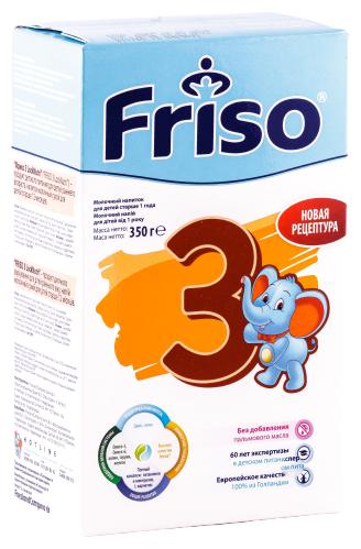 Купить Смесь Friso 3 LockNutri (от 1 года до 3 лет) 350 г по низкой цене с доставкой из Яндекс.Маркета