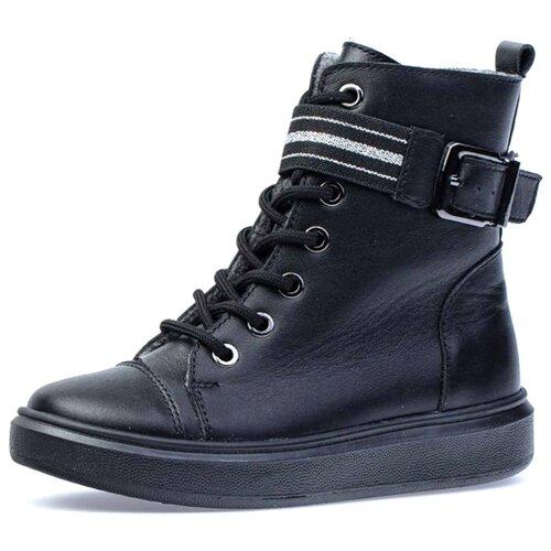 Ботинки КОТОФЕЙ размер 36, черный ботинки котофей размер 34 черный