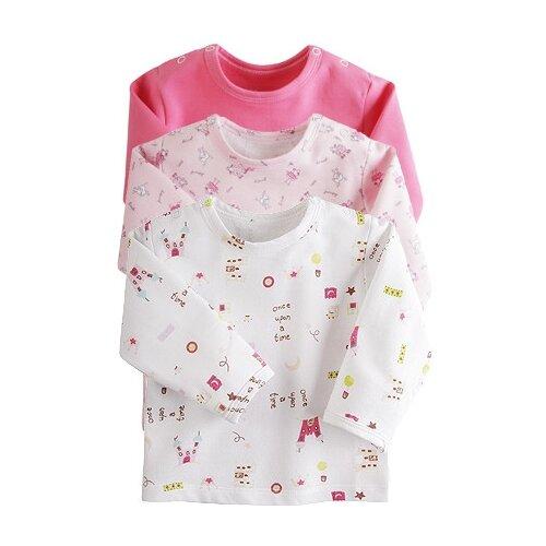 Купить Лонгслив Наша мама размер 74, розовый микс, Футболки и рубашки