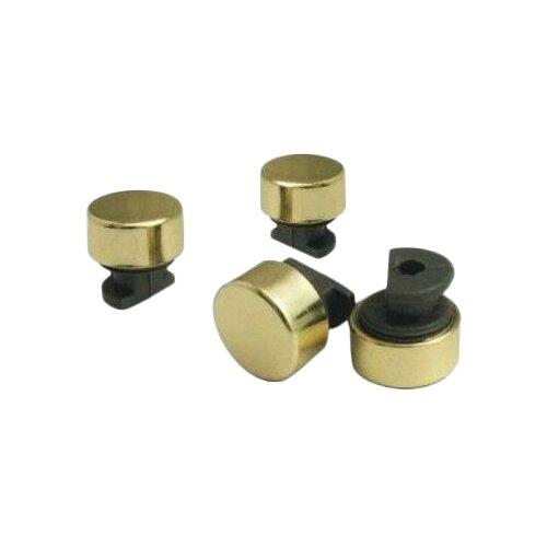 Зеркалодержатель Tech-KREP 112587, 4 шт., золото