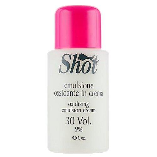Shot Oxidizing Emulsion Cream Кремовая окисляющая эмульсия, 9%, 150 мл wildcolor крем эмульсия окисляющая oxidizing emulsion cream 9% 270 мл