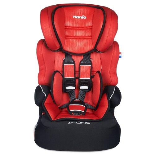 Купить Автокресло группа 1/2/3 (9-36 кг) Nania Beline SP LX, red, Автокресла