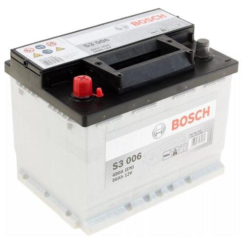 Автомобильный аккумулятор Bosch S3 006 (0 092 S30 060)
