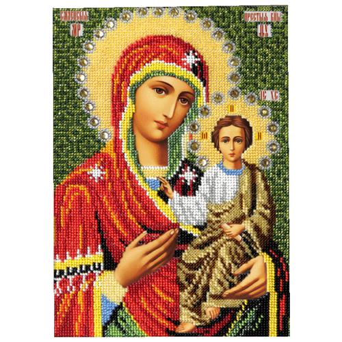 Купить Вышиваем бисером Набор для вышивания бисером Смоленская Икона Божией Матери 19 х 26 см (L-109), Наборы для вышивания