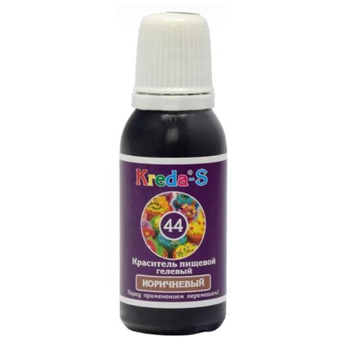 KREDA - S Краситель пищевой гелевый №44 Коричневый 25 г