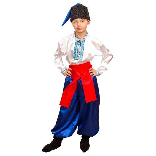 Костюм Маскарад у Алисы Украинский мальчик, синий, размер 30(122)