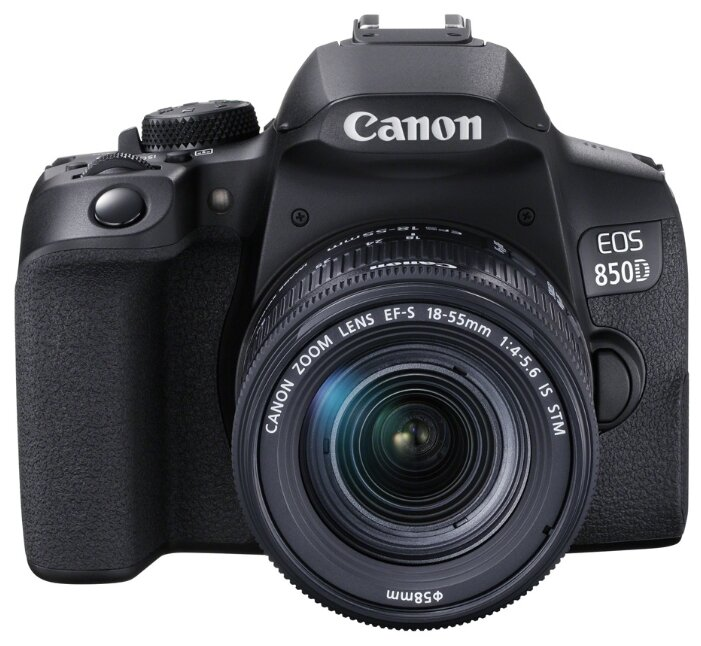 Фотоаппарат Canon EOS 850D Kit черный EF-S 18-55mm f/4-5.6 IS STM фото 1