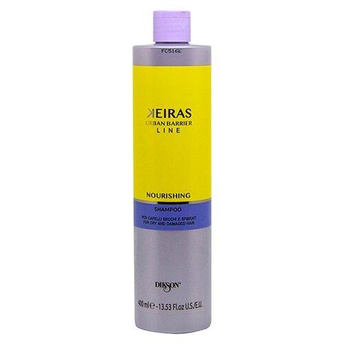 Dikson шампунь Keiras Urban Barrier Line Nourishing для питания поврежденных волос 400 мл