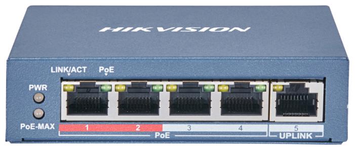 Коммутатор Hikvision DS-3E0105P-E(B) — купить по выгодной цене на Яндекс.Маркете
