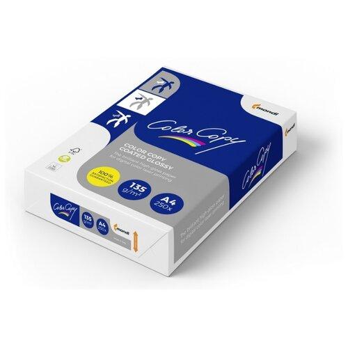 Фото - Бумага Color Copy A4 Coated Glossy 135 г/м² 250 лист. белый 1 шт. консервы whiskas для кошек от 1 года крем суп с курицей 85 г х 24 шт