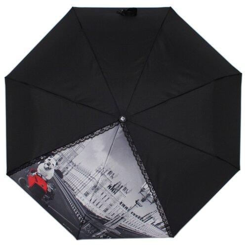 Зонт автомат FLIORAJ 20103 FJ черный рюкзак женский flioraj цвет черный 00058058