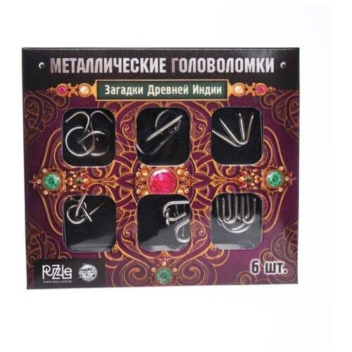 Купить Металлические головоломки Загадки Древней Индии (набор 6шт) 3217357, Puzzle, Головоломки