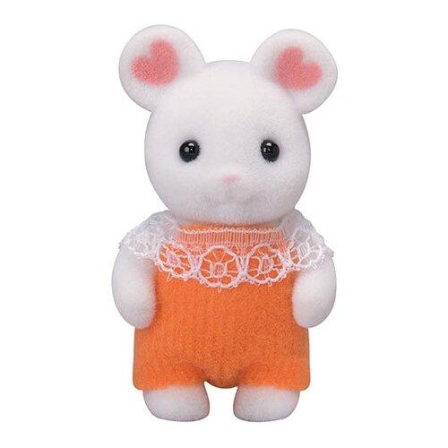 Купить Игровой набор Sylvanian Families Малыш Зефирный мышонок 5336, Игровые наборы и фигурки