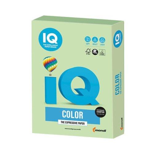 Фото - Бумага IQ Color А4 160 г/м² 250 лист. зеленый MG28 1 шт. бумага iq color а4 160 г м² 250 лист розовый pi25 5 шт