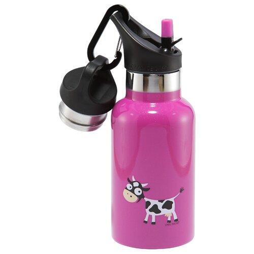 Carl Oscar Детская термос-фляга TEMPflask™ Cow 0.35л фиолетовая