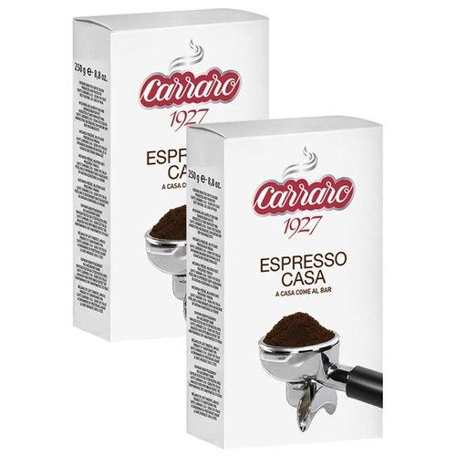 Фото - Кофе молотый Carraro Espresso Casa, 500 г кофе молотый carraro espresso casa 250 гр в у
