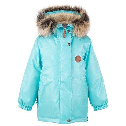 Купить Парка KERRY Marta K20435 размер 110, 4122 бирюзовый, Куртки и пуховики