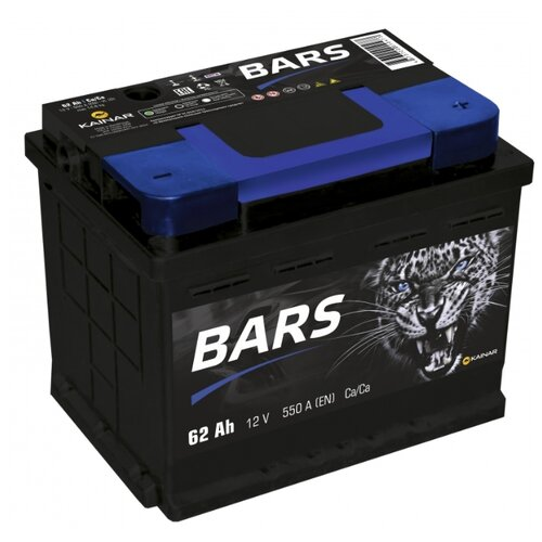 цена на Автомобильный аккумулятор BARS 6СТ-62 АПЗ о.п.