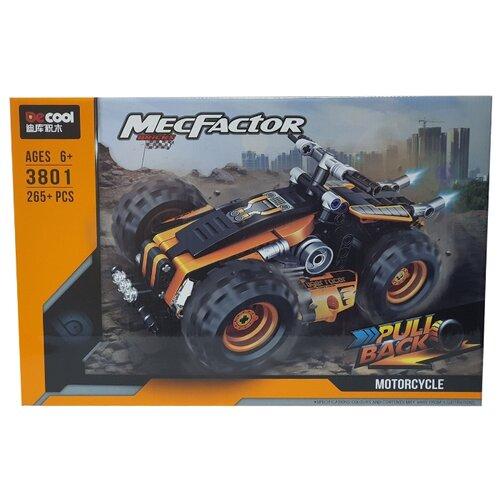Купить Конструктор Jisi bricks (Decool) MecFactor 3801 Квадроцикл, Конструкторы