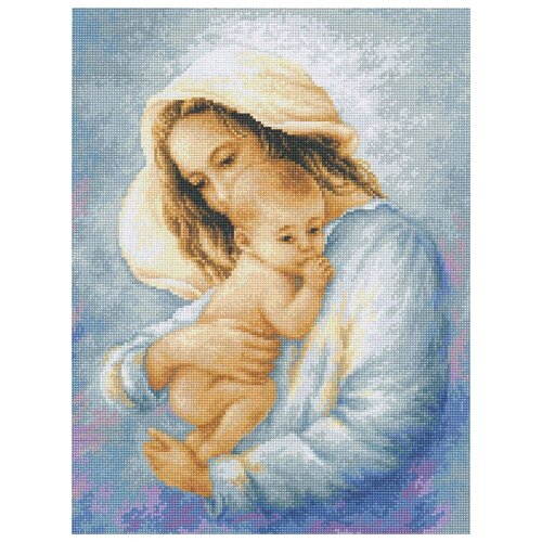 Купить Luca-S Набор для вышивания Мать и дитя 15 х 20 см (G537), Наборы для вышивания