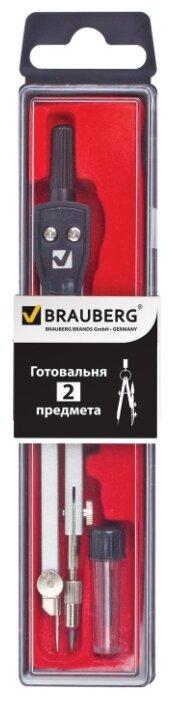 BRAUBERG Готовальня Architect 2 предмета (210321)