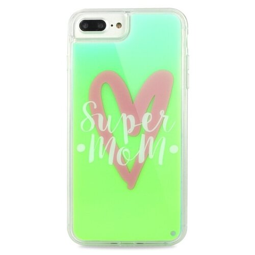Купить Чехол-накладка Pastila Neon Case для Apple iPhone 6 Plus/iPhone 7 Plus/iPhone 8 Plus Super Mom