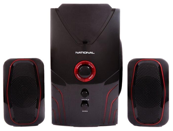 Комплект акустики NAS-1230 с Bluetooth, радио-тюнером, сабвуфером и USB, 400 Вт - Характеристики - Яндекс.Маркет (бывший Беру)