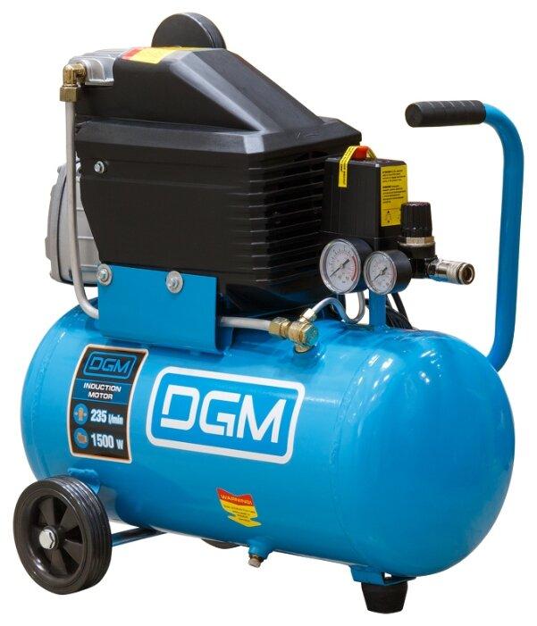 Компрессор масляный DGM AC-127, 24 л, 1.5 кВт