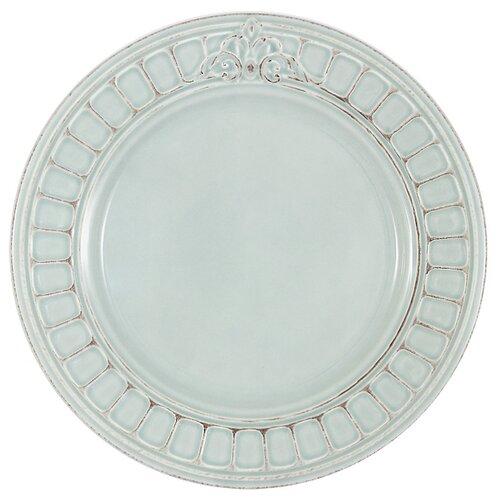 Тарелка обеденная Matceramica Venice (голубая) без инд. упаковки, керамика, 27.5 см (MC-F430801350D0053)