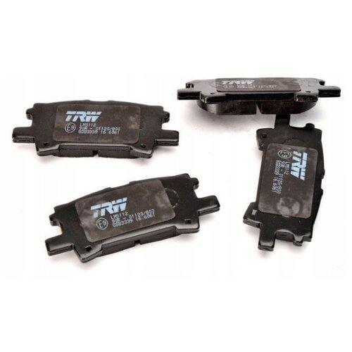 Дисковые тормозные колодки задние TRW GDB3339 для Lexus RX, Toyota Harrier, Toyota Highlander, Toyota Kluger (4 шт.)