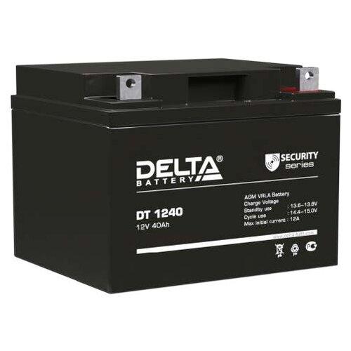 Фото - Аккумуляторная батарея DELTA Battery DT 1240 40 А·ч аккумуляторная батарея delta battery gel 12 33 33 а·ч