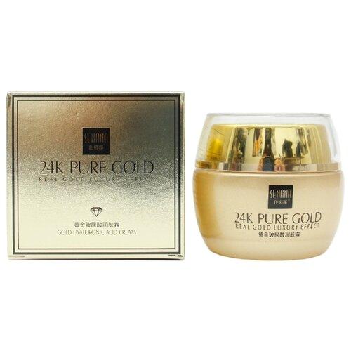 SENANA 24K Pure Gold Gold Hyaluronic Acid Cream Омолаживающий крем для лица, 50 мл крем для лица ullex hyaluronic acid