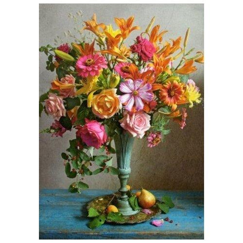 Купить Пазлы 500 Осенние цветы Кастор В-53537, Castorland