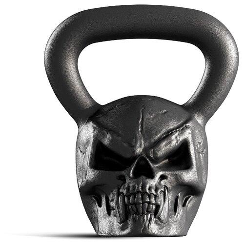 Гиря цельнолитая Iron Head Череп 20 кг