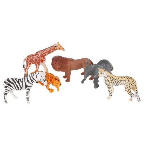 Купить Фигурки Shantou Gepai Jungle animal 2A006, Игровые наборы и фигурки