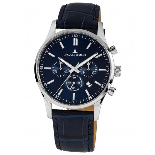 Фото - Наручные часы JACQUES LEMANS 1-2025C наручные часы jacques lemans 1 2094d