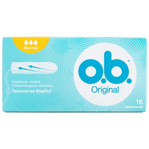 Купить O.b. тампоны Original Normal 16 шт.