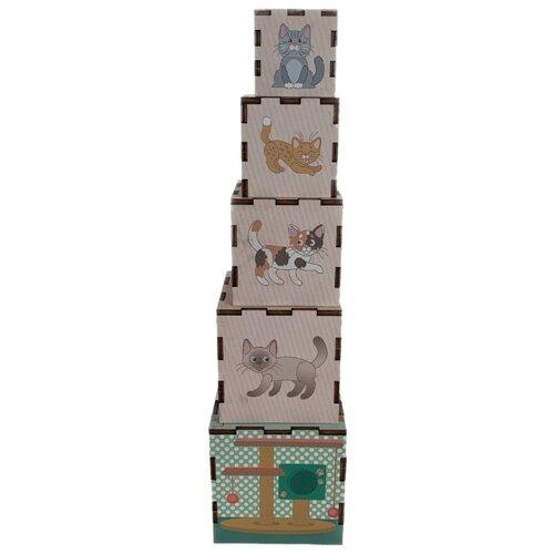Пирамидка-сортер PAREMO Животные PE720-76