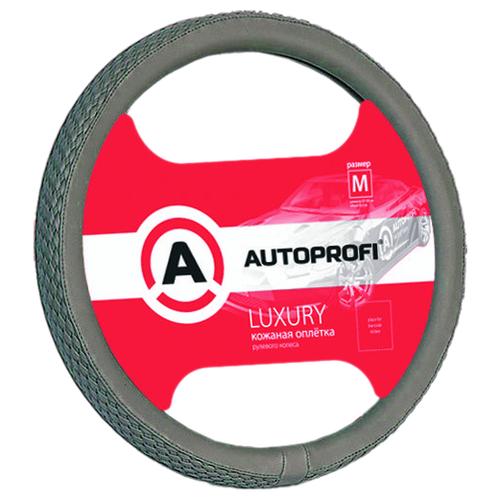 Оплетка/чехол AUTOPROFI AP-810 GY (M) серый оплетка autoprofi ap 810 d gy gy be m