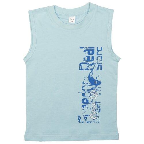 Купить Майка #Repost размер 128, голубой, Белье и пляжная мода