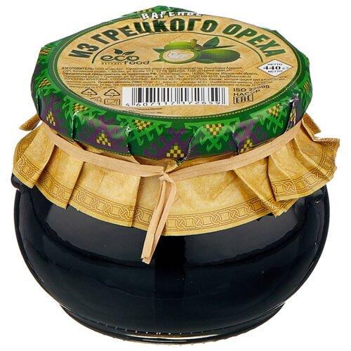 Варенье Ecofood из грецкого ореха, банка 440 г