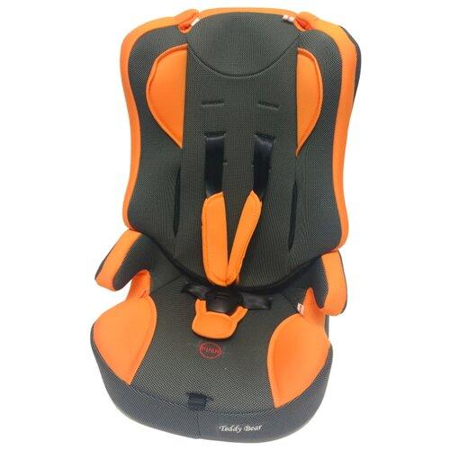 Автокресло группа 1/2/3 (9-36 кг) Мишутка LB 513 RF (без вкладыша), orange/black dot группа 1 2 3 от 9 до 36 кг мишутка lb513rf