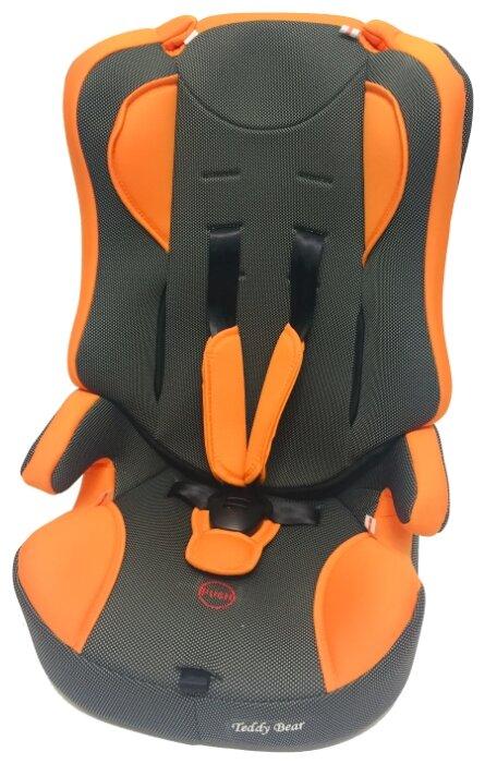 Купить Автокресло группа 1/2/3 (9-36 кг) Мишутка LB 513 RF (без вкладыша), orange/black dot по низкой цене с доставкой из Яндекс.Маркета