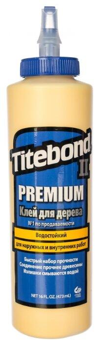 Клей полимерный Titebond II Premium Wood Glue 5004 0.473 л