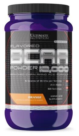 BCAA в порошке Ultimate Nutrition BCAA 12000 Powder (450 гр) (Лимон-лайм)
