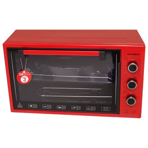 Фото - Мини-печь Shivaki MD 3618 E красный холодильник shivaki sdr 082s