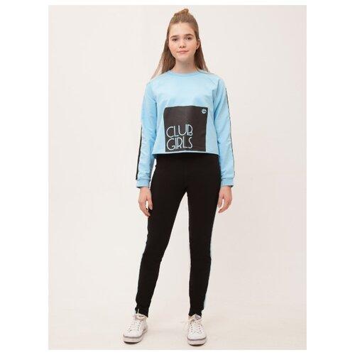 Купить Комплект одежды Nota Bene размер 122, черный/голубой, Комплекты и форма