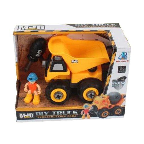 Купить Винтовой конструктор MJD DIY Truck 122-1B Спецтехника Грузовик, Конструкторы