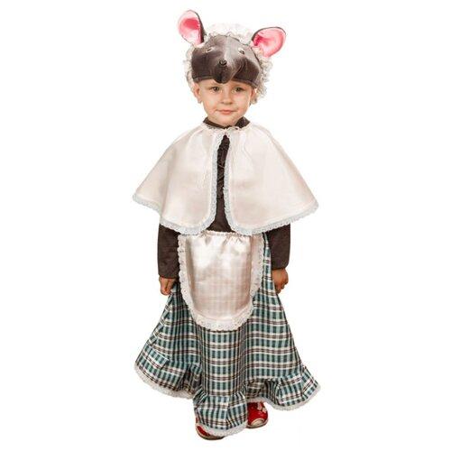 Костюм Elite CLASSIC Мышка-норушка, серый, размер 28 (116), Карнавальные костюмы  - купить со скидкой